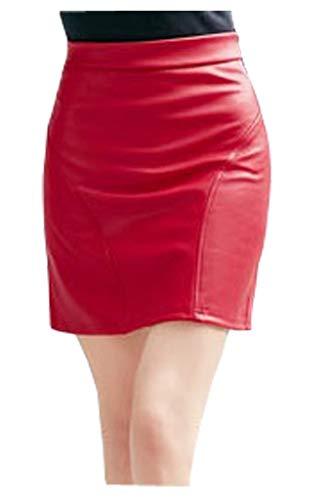 Faldas De Mujer Primavera Chicas Moda Chic Verano Falda Mode De Marca De Playa Falda De Verano Falda De Cuero De Imitación Falda Corta De Cuero De Imitación