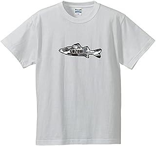 オーナー Tシャツ ホワイトフィッシュロゴスズキ半袖 犬屋 メンズ レディース ルームウェア 魚 魚類 釣り 漁業 海 川