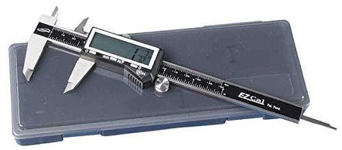 Baileigh Industrial Fractional Digital Caliper, SS, 0-6'/150mm
