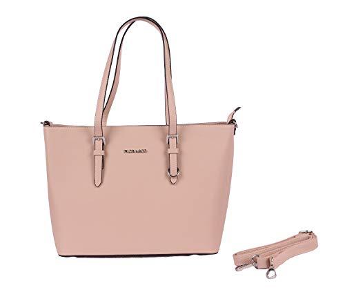 Flora & Co handtas 9179 dames werk shopper tas handtas elegante hengseltas voor kantoor
