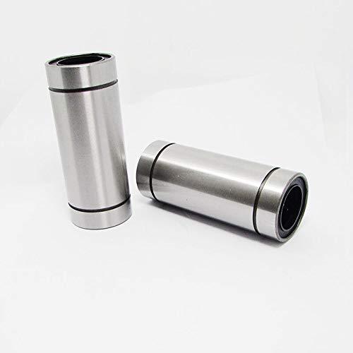 Sin WNJ-TOOL, 4 piezas LM20LUU tipo largo 20 mm rodamientos lineales de bolas CNC piezas para impresora 3D