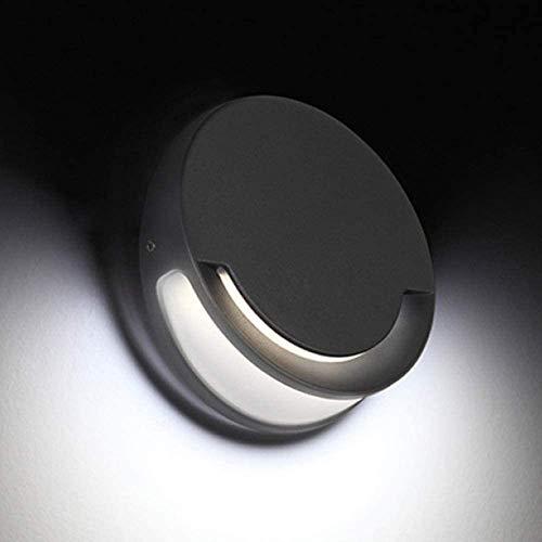 Lámparas de pared Loft Comedor Restaurante Bar Club Pub Cafe Porche de montaje en pared aplique for pasillo del accesorio de iluminación (Color : White)