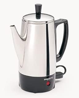 Presto 02822 6-Cup Stainless-Steel Coffee Percolator & Free Mini Tool Box (cog)