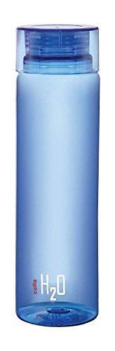 Cello H2O Unbreakable Plastic Bottle, 1 Litre, Assorted colour
