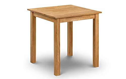 Julian Bowen Coxmoor Square Dining Table, Oak