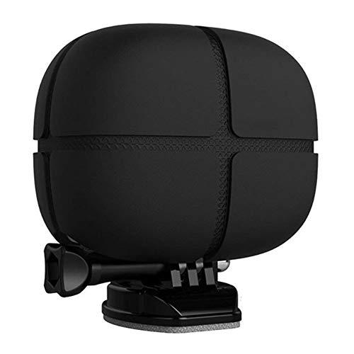 XUSUYUNCHUANG - Carcasa protectora de silicona suave para GoPro Hero 7 6 5 4 3+ 3 2 Session para Xiaomi Yi 1 Sport Camera Accesorios (color: negro)