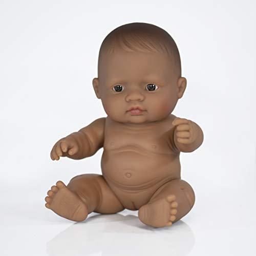 Miniland miniland31148 21 cm hispanics meisjespop zonder ondergoed in zak