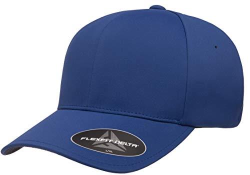 Flexfit Men's Delta Seamless Cap, Royal, L/XL