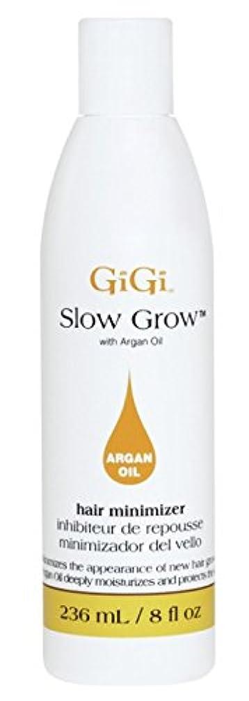 監査自治的申し立てるGigi Slow Grow With Argan Oil Hair Minimizer 235 ml (並行輸入品)