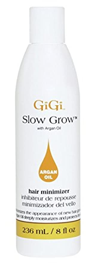 八日記湿地Gigi Slow Grow With Argan Oil Hair Minimizer 235 ml (並行輸入品)