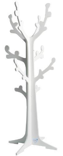 PMP - Attaccapanni ad albero per bambini, colore bianco