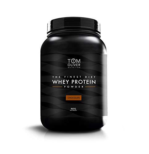 Tom Oliver Nutrition The Diet Protein - Diet Whey Protein Powder 907g (Chocolate)