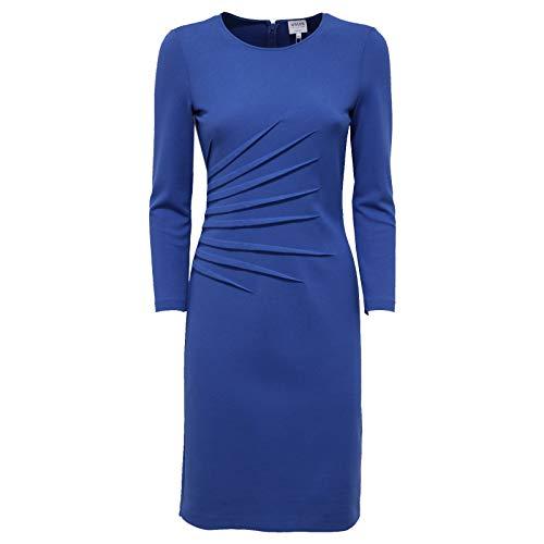 7665AB Abito Donna Armani Collezioni Vestito Blue Dress Women [40]