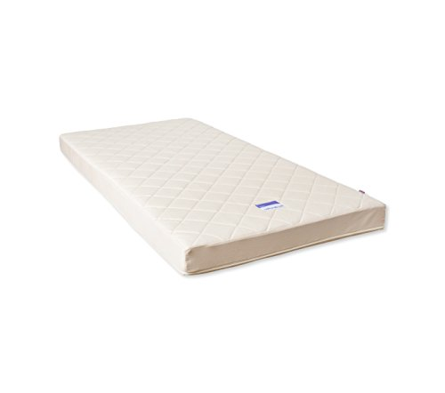 Natural Mat Coco Mat Quilted Cot Bed Mattress (70 x 140 cm)