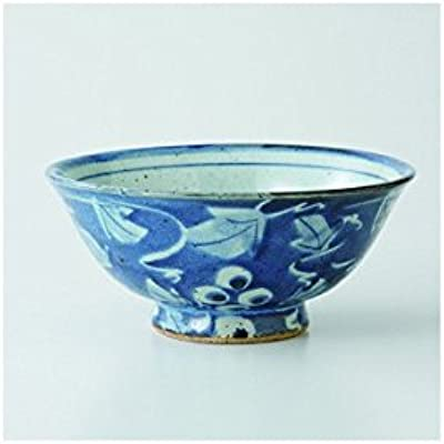 9.5D Superb Quality Made in Europe Barski Beautiful Handmade Glass Round Footed Bowl 9.5 Inches Diameter Cobalt
