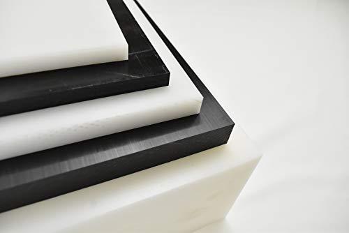 Black Delrin/Acetal Copolymer Plastic Sheet 1/2' x 6' x 12'