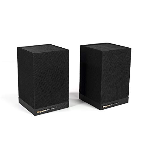 Klipsch Surround 3 Speaker Pair with Adjustable Volume for a Full 5.1 Home Theater Experience with Compatible Sound Bars