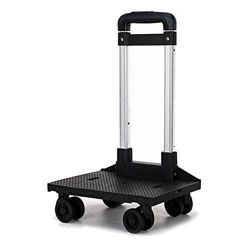 Katzentrage-Rucksack-Trolley, Faltbare Mobile Haustiertrage-Rucksack-Auto, Teleskopgriff Tragbare Wagen Rad, Für Reisen Camping Wandern