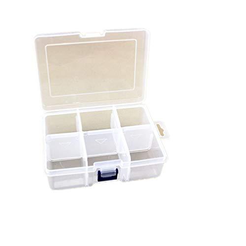 TOPBATHY Boîte De Rangement 2Pcs Transparent Classifié Maquillage Titulaire Organisateur De Bureau Boîte En Plastique Pour Voyage À Domicile