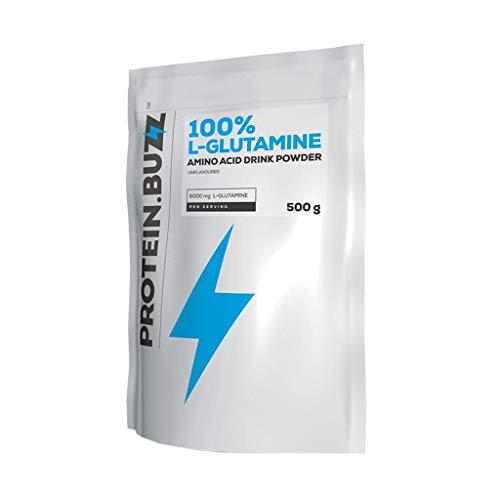 Protein Buzz 100% L-Glutamine, 500g Beutel