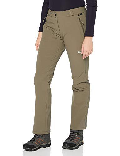 Jack Wolfskin Activate Thermic Pantalon Softshell pour Femme XL Granite