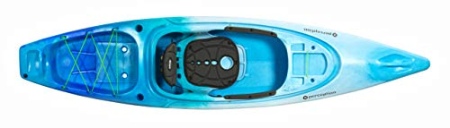 Perception Sound 10.5 | Sit Inside Kayak for Fishing and Fun | Two Rod Holders | Large Rear Storage | 10' 6' | Sea Spray