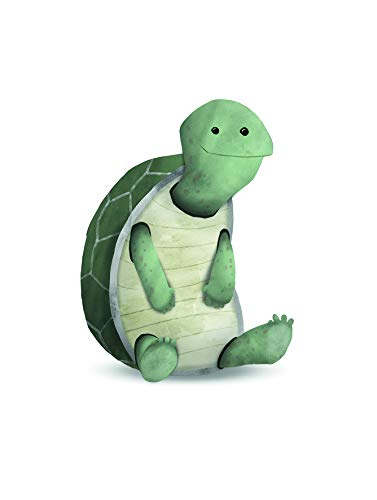 Komar Väggmålning | Sött djursköldpadda | affisch, bild, vardagsrum, sovrum, dekoration, konsttryck | utan ram | P111B-30x40 | Storlek: 30 x 40 cm (bredd x höjd)