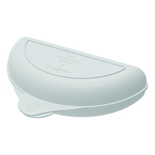 Nordic Ware Microwave Omelet Pan, 8.4 Inch, White