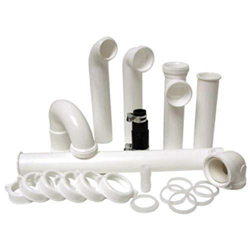 PF WaterWorks PF0989 Garbage Disposal Installation Kit, White