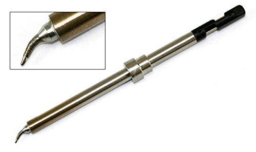 Hakko Solder Tip, Bent, Micro R0.2mm 40x3mmx3mm, FM-2032