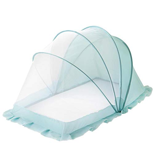 Buy Foldable installation-free portable baby mosquito net (Blue, S)