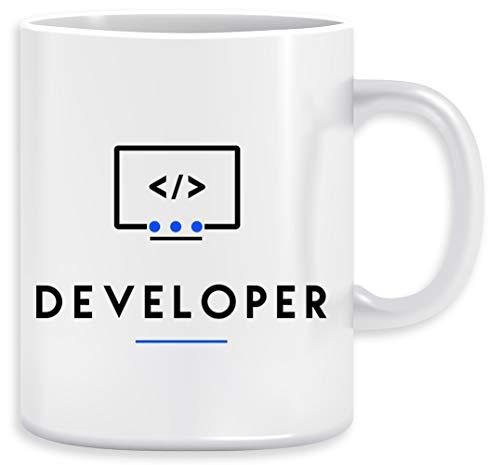 Developer Taza Ceramic Mug Cup