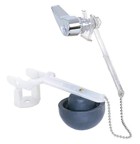 EZ-FLO 40079 Touch Flush Valve for Eljer Toilets, White