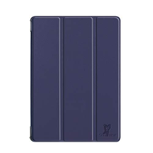 HHF Pad Accesorios para Samsung Galaxy Tab S4 10.5 2018 SM-T830 / T835, Tableta de lápiz Caja Protectora de la Piel para la pestaña Galaxy 10.5 (Color : Azul Oscuro)