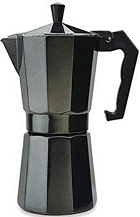 Amazon.com: Aluminum Cuban Style Coffee Maker Designer Black ...