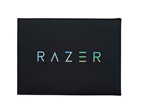 Razer V2 Funda protectora para portátiles y portátiles de hasta 13.3 pulgadas, 33.8cm exterior robusto, material interior que se puede utilizar como superficie de ratón, 350x260mm de tamaño