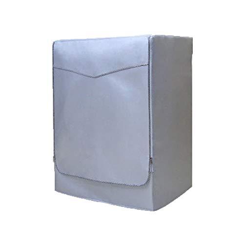 Chakil Waschmaschine Abdeckung für für Frontbelastung Wasserdicht Staubdicht Waschmaschine Trockner Decken Silber