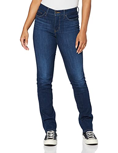 Levi's 314 Shaping Straight Jeans, Cobalto Honor, 34W x 32L Donna
