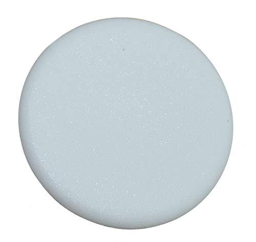 AERZETIX: 100x Tapa plástico Blanco para excéntrica Rastex Tornillo de Racor para Montaje de Paneles Muebles C41738