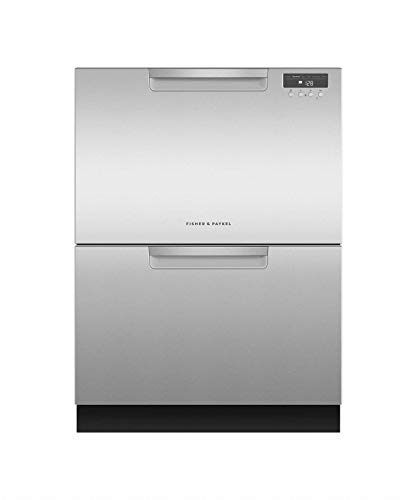 Image of Fisher Paykel DD24DAX9 Double DishDrawer with Recessed Handle in Stainelss: Bestviewsreviews