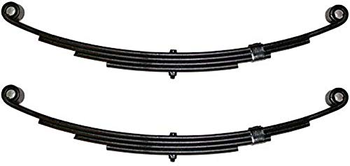 1750 lbs Southwest Wheel 4-Leaf Double Eye Trailer Leaf Spring