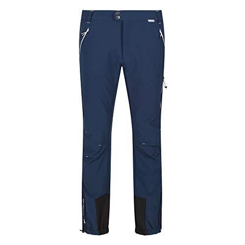 Regatta Mountain Winter Trousers Hose Stretch Ultra Stretch Herren wasserabweisend mit elastischem Bund und Reißverschlusstaschen, Nightfall/Nightfall, FR: 2XL Hersteller: 38 Zoll