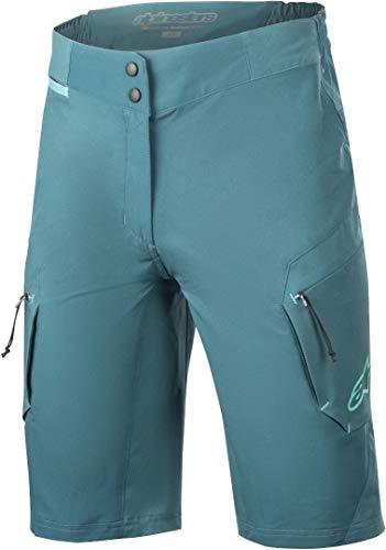 Alpinestars Pantalones Cortos Stella Alps 8.0 para Mujer Stella Alps 8.0, Mujer, 1733619, Azul petróleo, 44