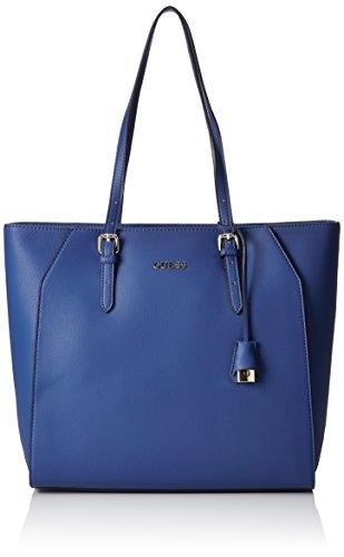 Guess Damen Sissi Medium Tote handtaschen, Blau (Cobalt), One Size