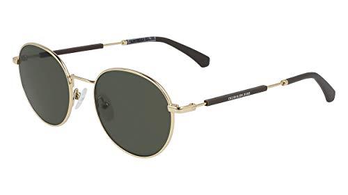 Calvin Klein CKJ20110S Gafas, Shiny Gold, 50/19/145 Unisex Adulto