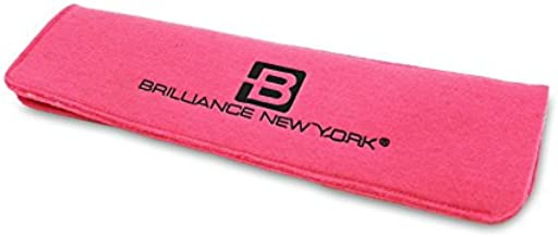 Brilliance New York - Heat Resistant Mat, Convenient Protection for Styling Tools, Hot Pink