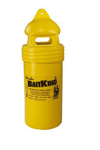 Intruder baitking, Live Köder Eimer, Verwenden Schleppen, schwimmend Oder Sogar Eis Angeln, abgeschirmtes Oberseite, groß, 43cm x 15,8cm