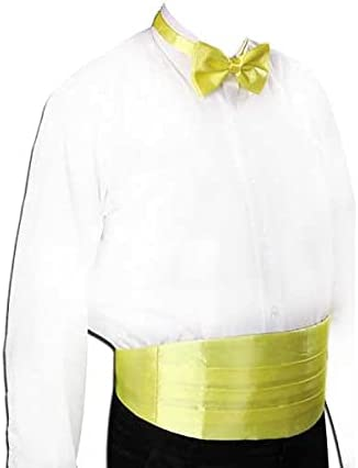UXZDX Gentleman Solid Wide Silk Satin Elastic Belly Band Tuxedo Cummerbund Commercial Banquet Model Business Elite (Color : E)