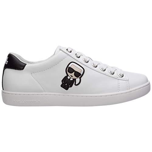 Karl Lagerfeld Damen k/ikonik kupsole Sneaker Bianco 38 EU