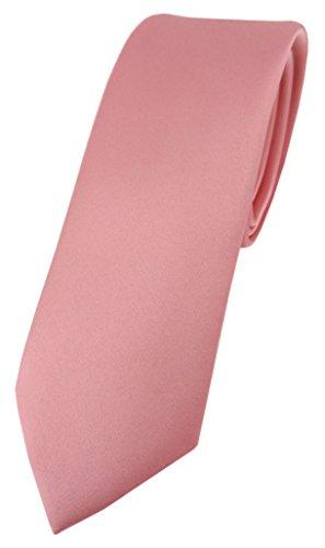 TigerTie - Corbata - Básico - para hombre rosa oscuro Talla única